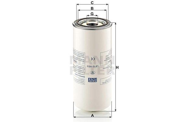 Lọc tách dầu Mann Filter LB13145/3